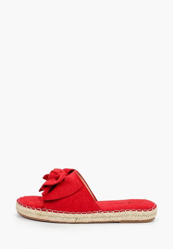 женское сабо clowse, красное