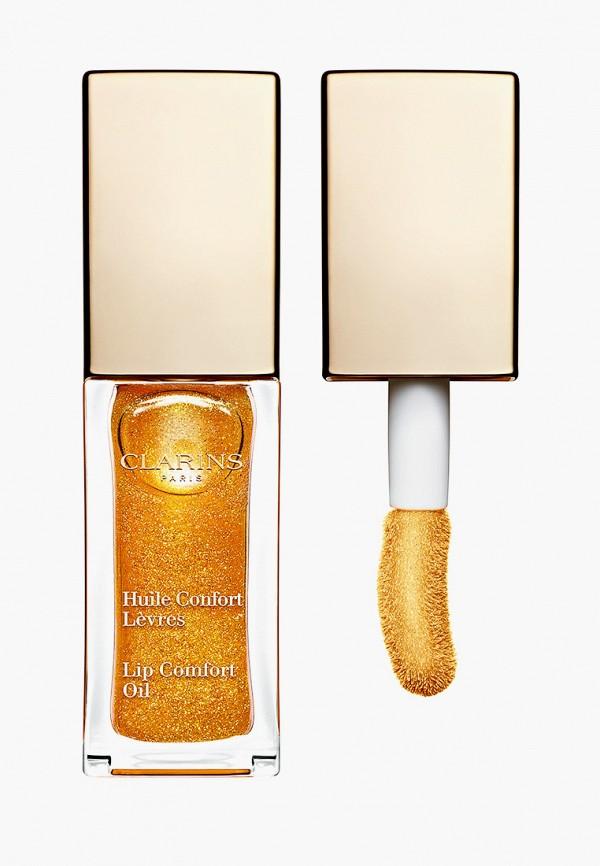 женский блеск для губ clarins, золотой
