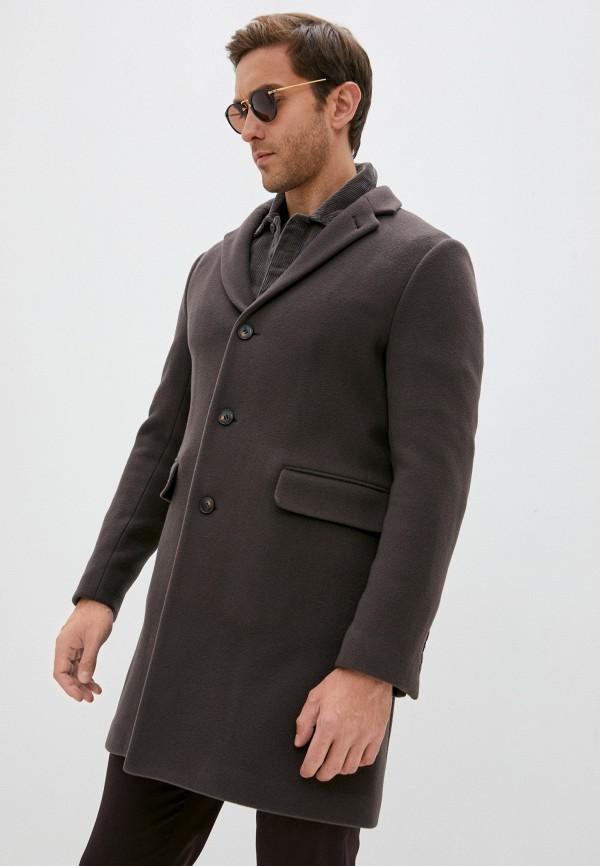 мужское пальто closed, коричневое
