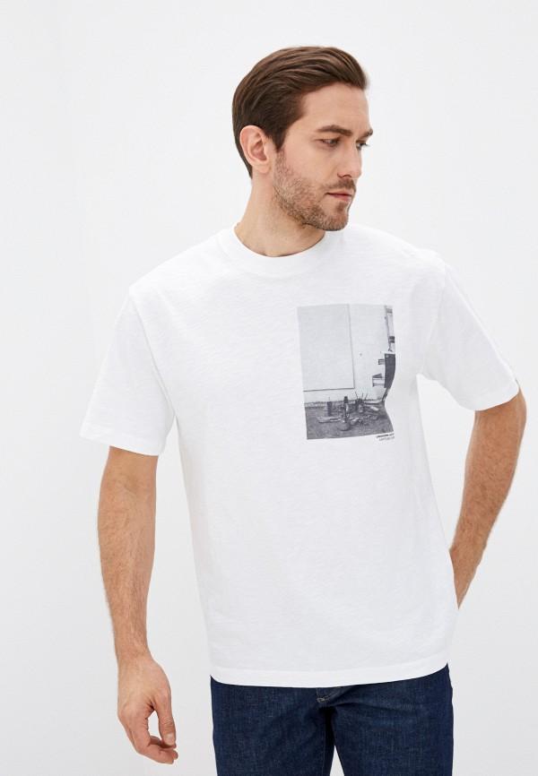 мужская футболка closed, белая