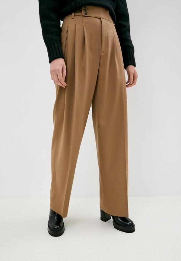 женские повседневные брюки closed, бежевые
