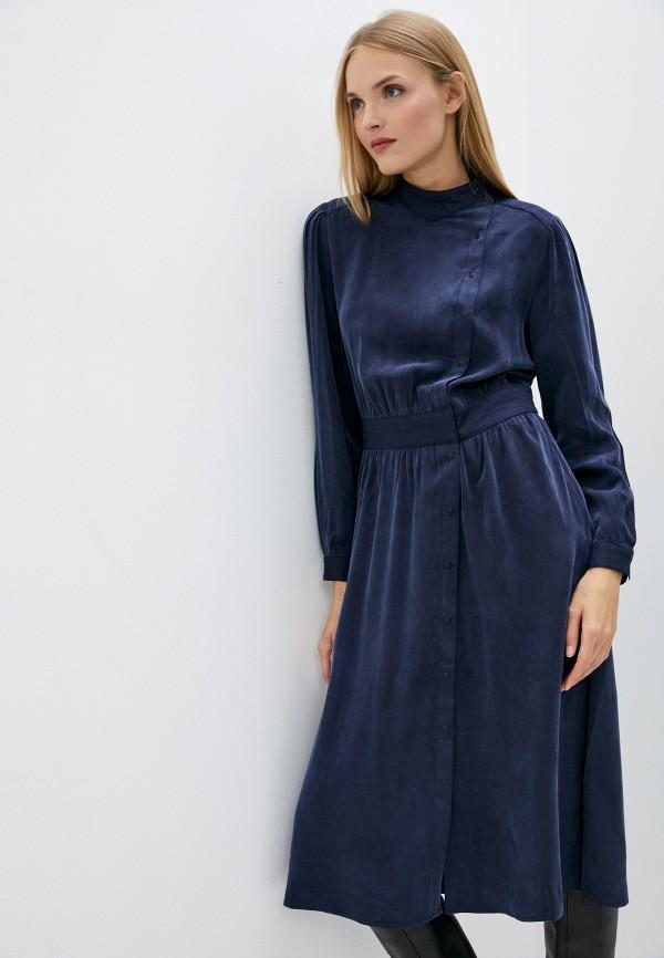 женское повседневные платье closed, синее