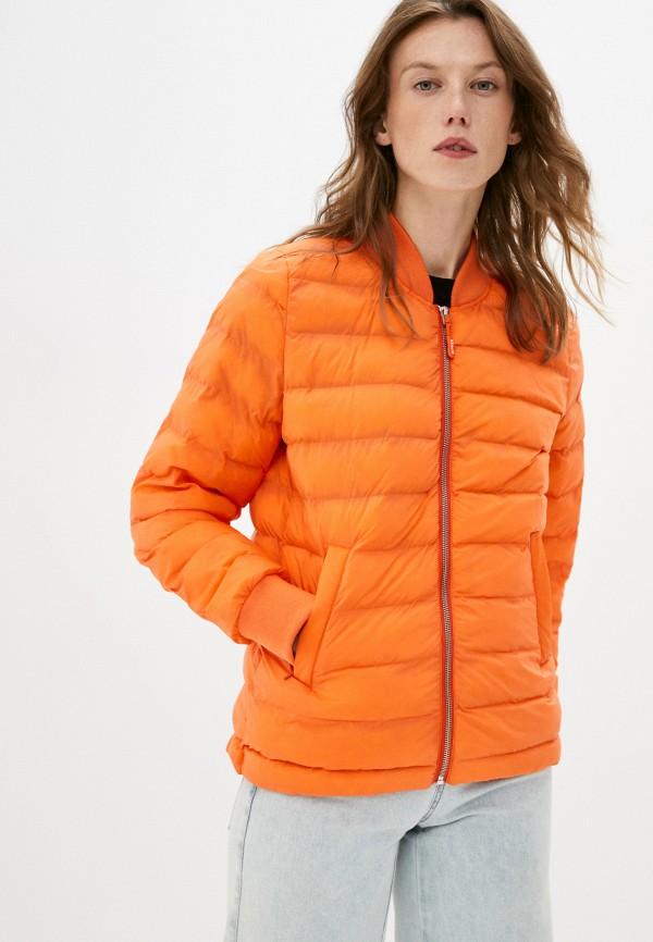 женская куртка closed, оранжевая