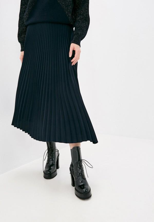 женская юбка closed, синяя