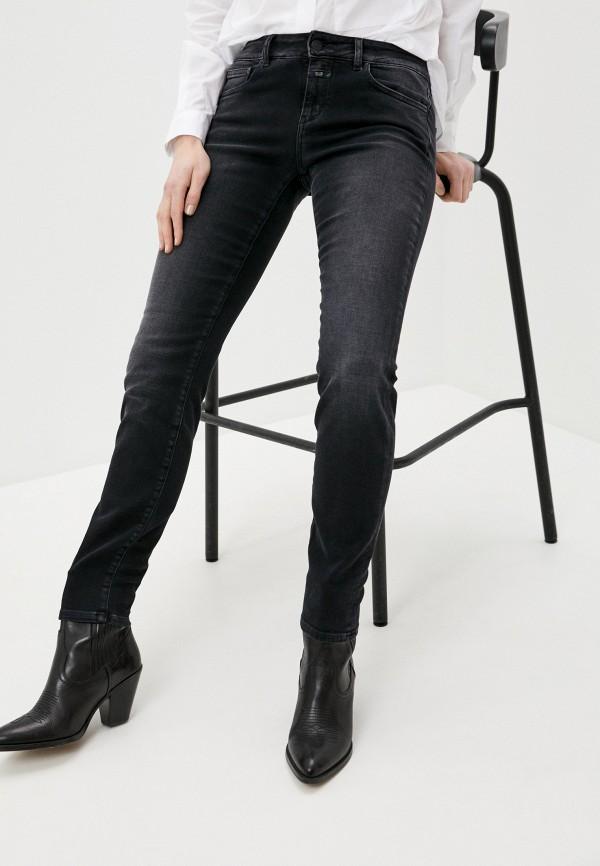 женские джинсы closed, черные