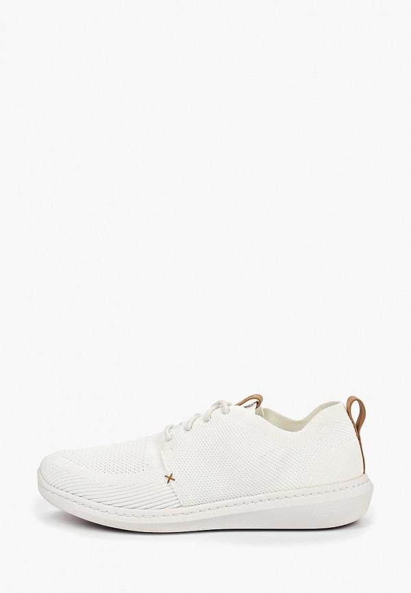 мужские кроссовки clarks, белые