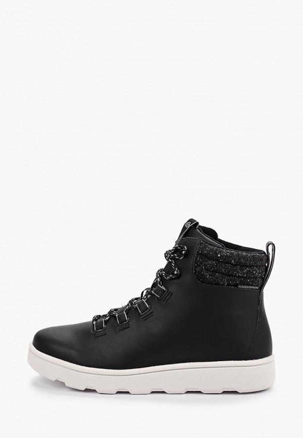 мужские ботинки clarks, черные