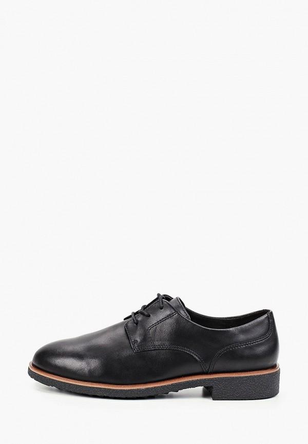 женские ботинки clarks, черные