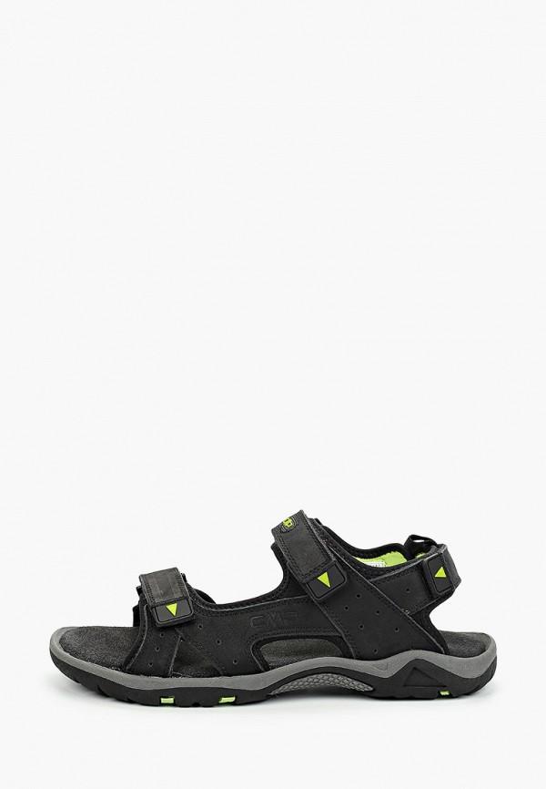 мужские сандалии cmp, черные