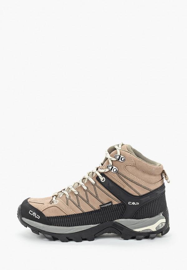 женские ботинки cmp, коричневые