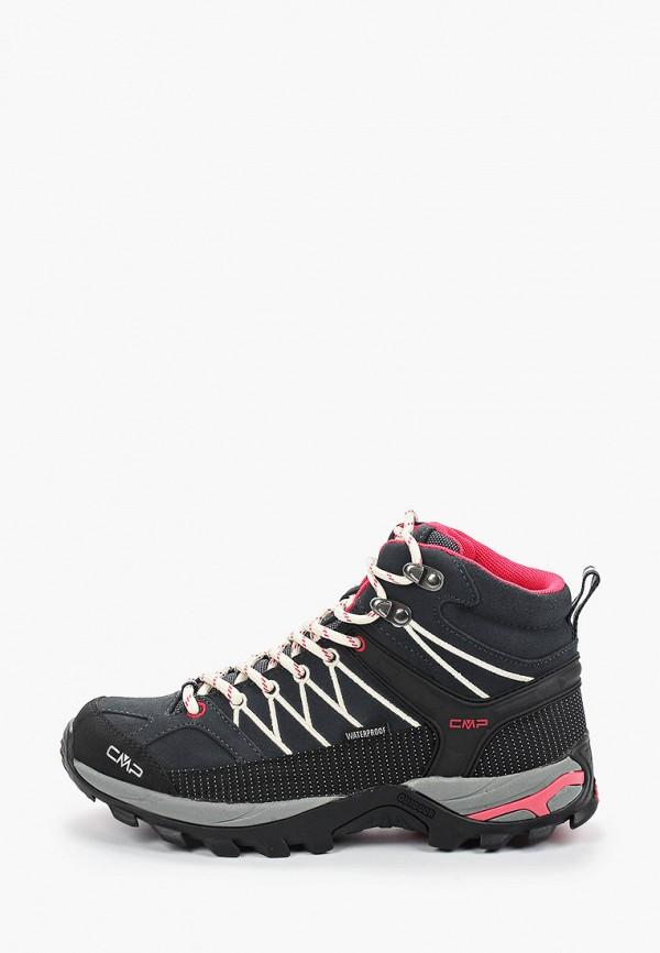 женские ботинки cmp, серые