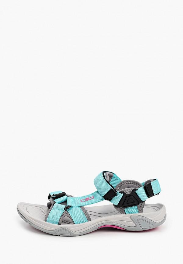 женские сандалии cmp, голубые