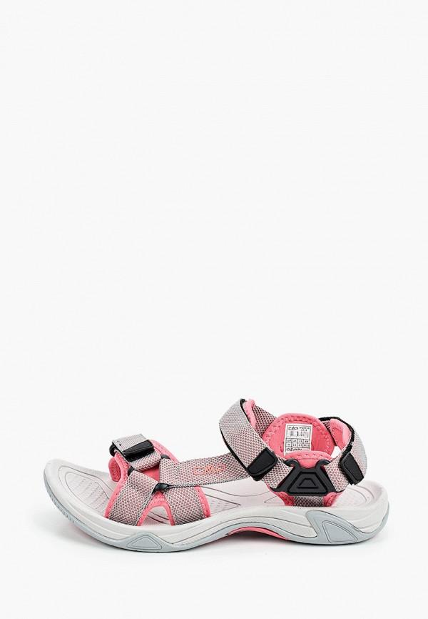 женские сандалии cmp, розовые