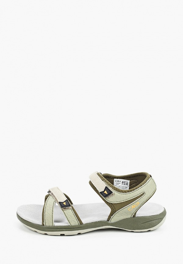женские сандалии cmp, серые