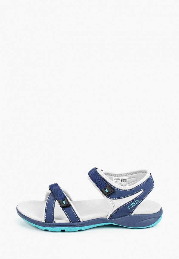 женские сандалии cmp, синие
