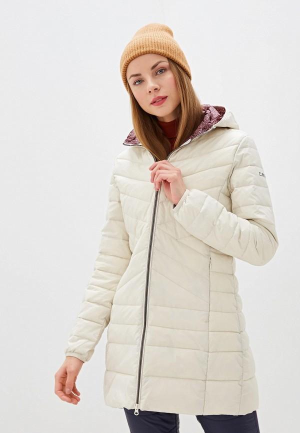 женская куртка cmp, бежевая