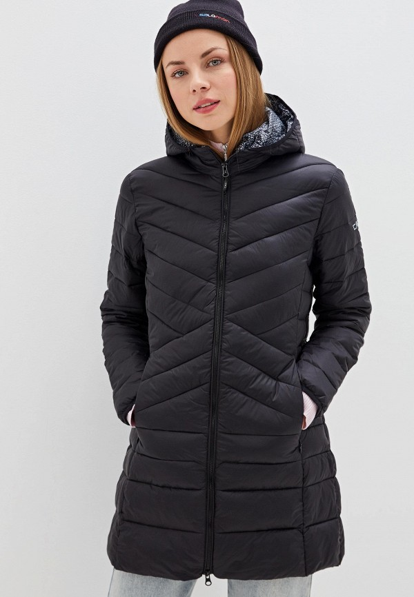 женская куртка cmp, черная
