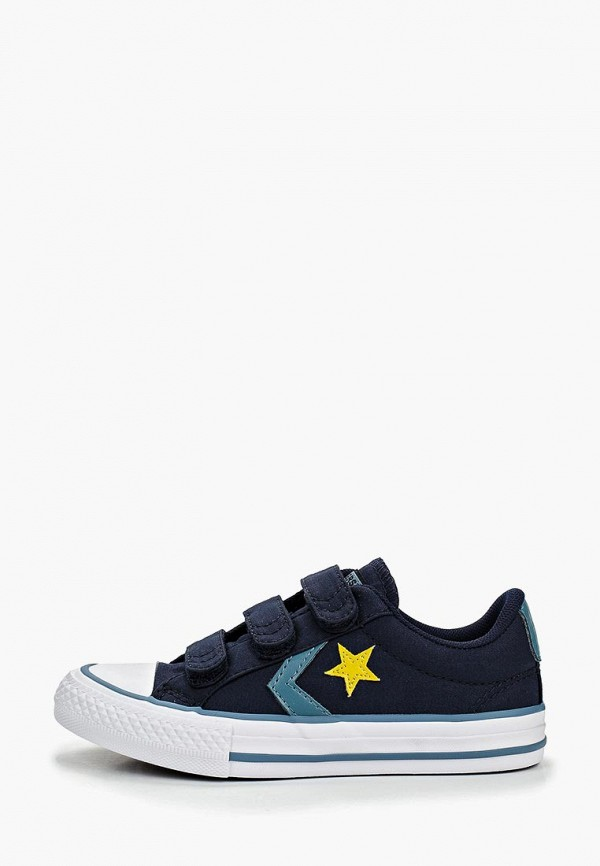 Купить Кеды Converse синего цвета