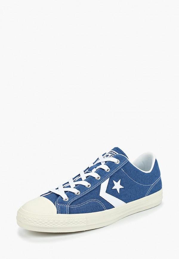 Купить Мужские кеды Converse синего цвета