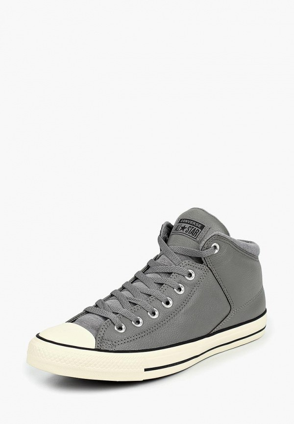 Купить Кеды Converse, Chuck Taylor All Star High Street, CO011AMCILR6, серый, Осень-зима 2018/2019