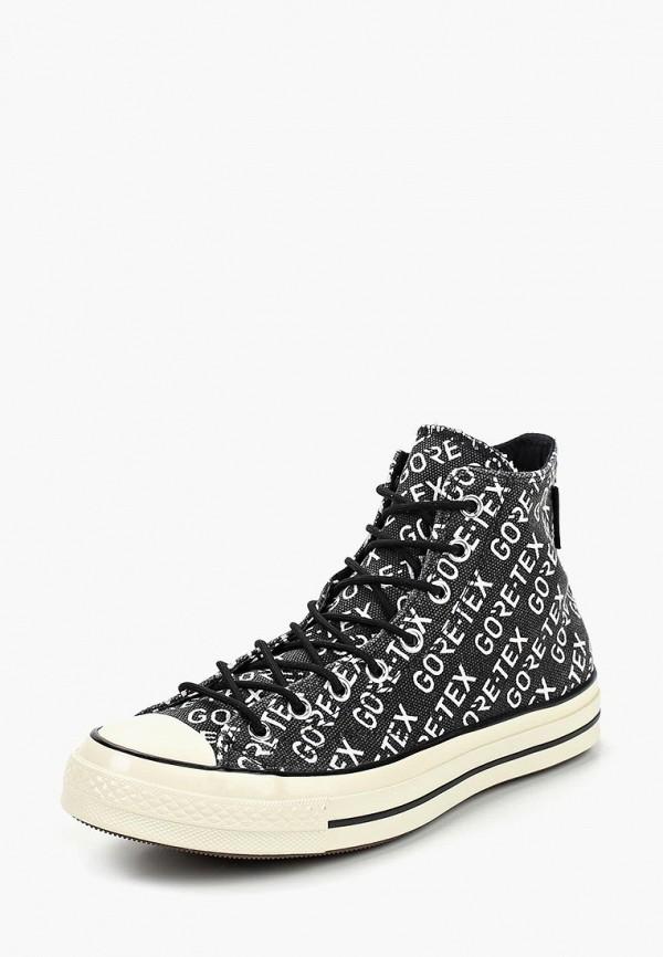 Купить Мужские кеды Converse черного цвета