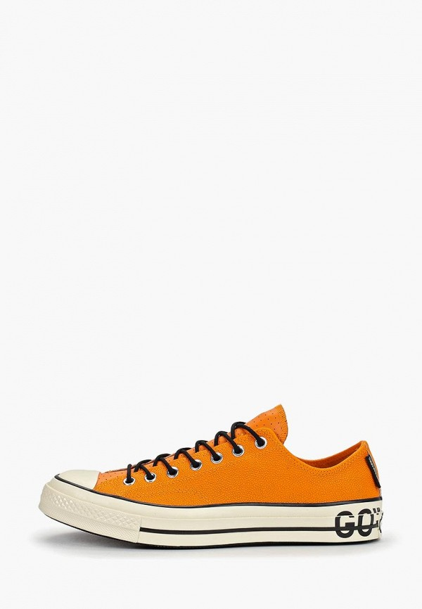 мужские кеды converse, оранжевые