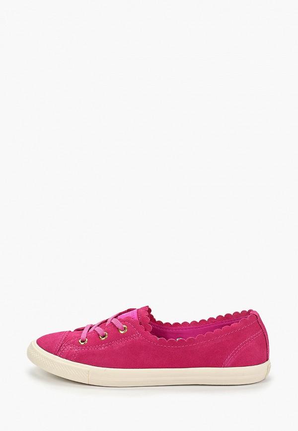 Купить Женские кеды Converse розового цвета