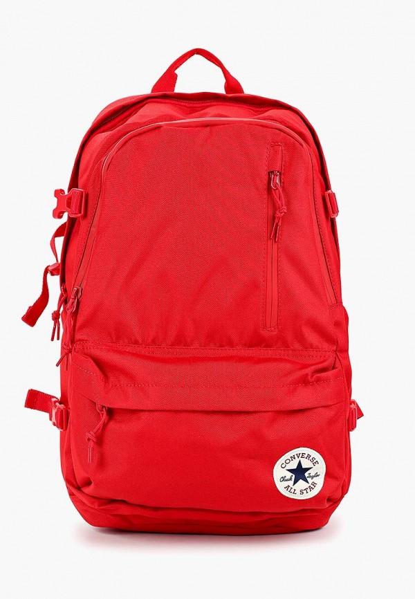 женский рюкзак converse, красный