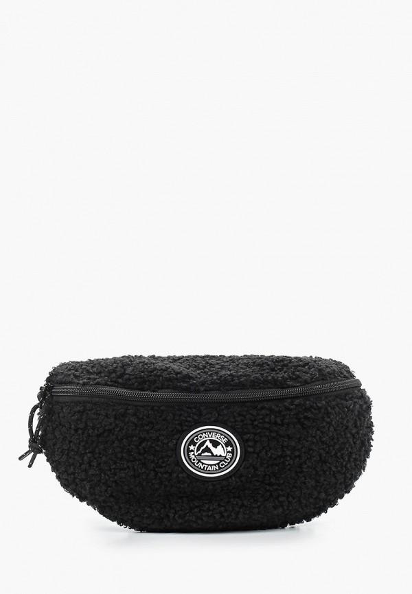 женская поясные сумка converse, черная