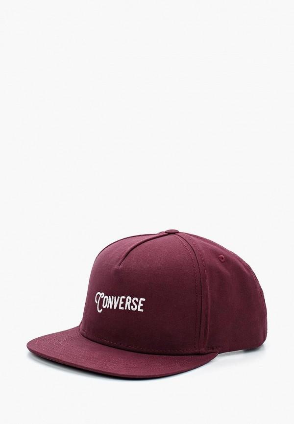 Купить Бейсболка Converse, CO011CUANCC1, бордовый, Весна-лето 2018