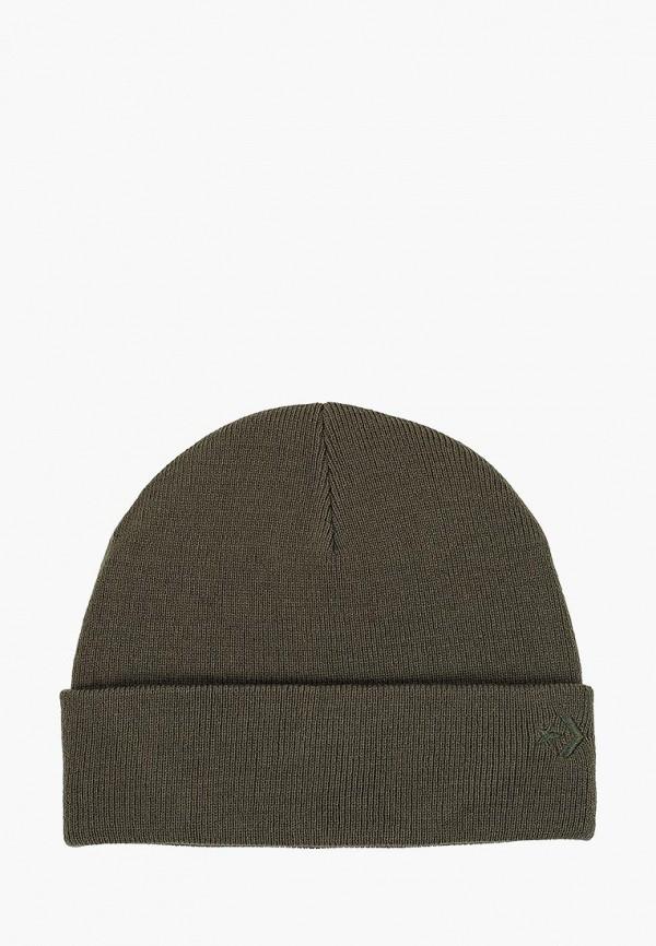 женская шапка converse, хаки