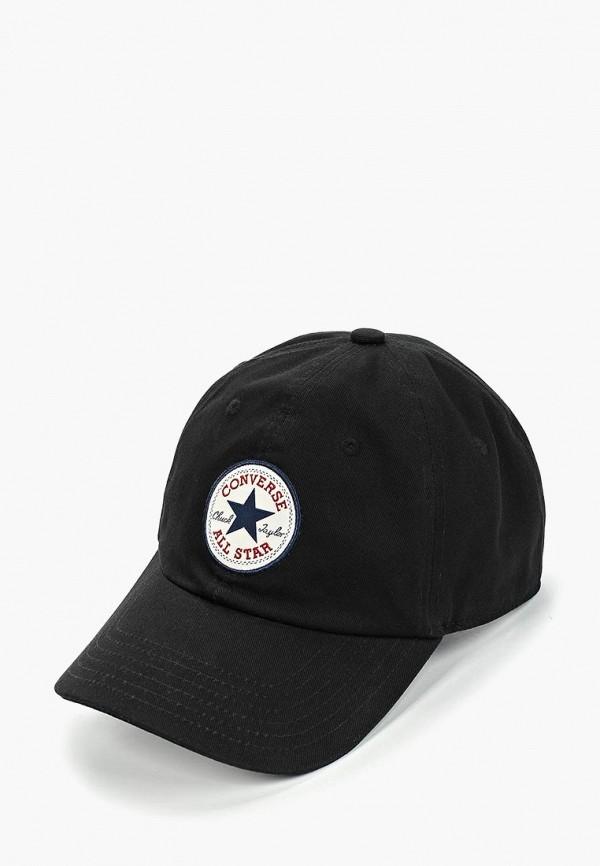 женская бейсболка converse, черная