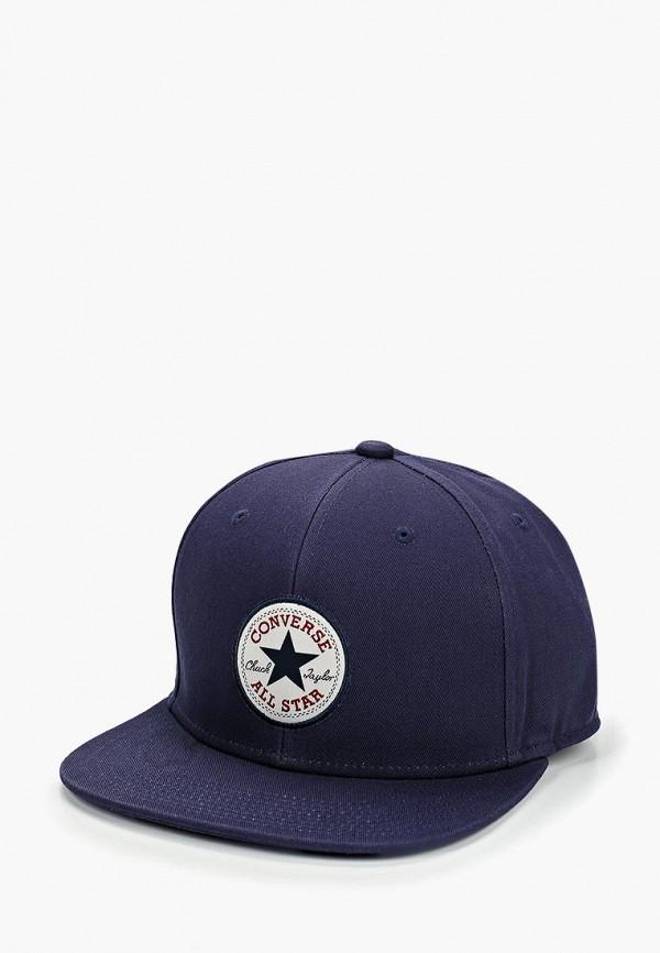 женская бейсболка converse, синяя
