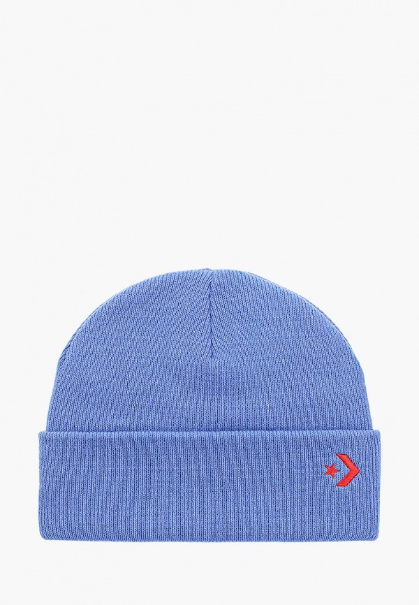 женская шапка converse, голубая