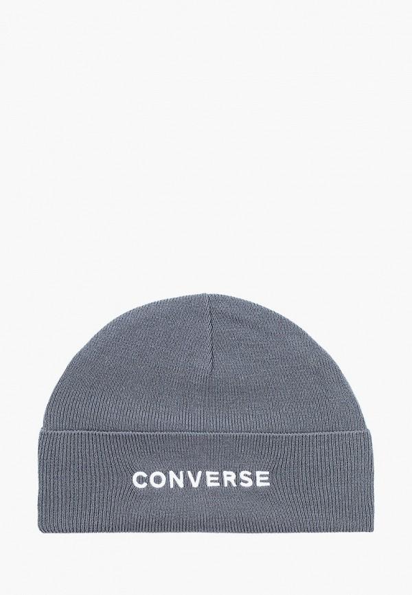 женская шапка converse, серая