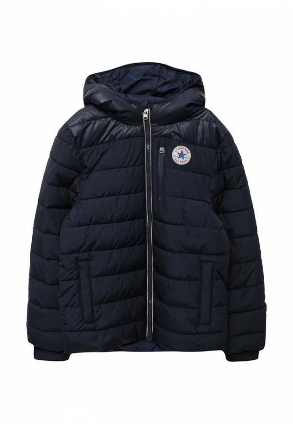 Куртка утепленная Converse, CO011EBXGB30, синий, Осень-зима 2017/2018  - купить со скидкой