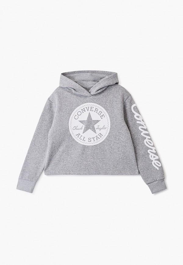 Худи Converse Converse CO011EGHHAS3 худи мужское converse chuck taylor graphic pullover hoodie цвет серый 10007066035 размер m 48