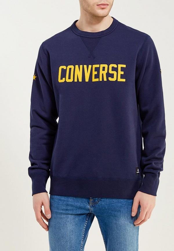 Купить Свитшот Converse, co011emanan0, синий, Весна-лето 2018