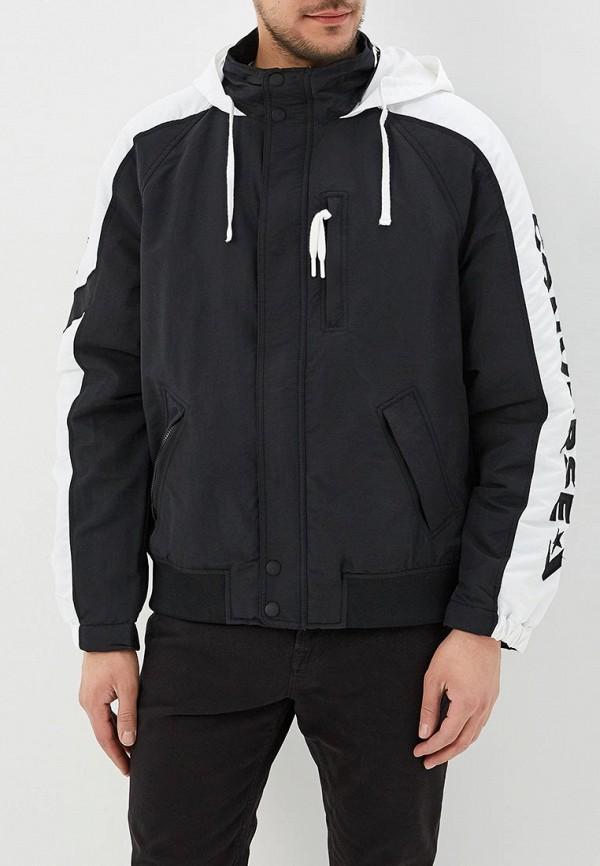 Купить Куртка утепленная Converse, CO011EMANAN8, черный, Весна-лето 2018