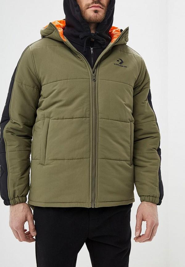 Купить Куртка утепленная Converse, co011emcowb6, хаки, Осень-зима 2018/2019
