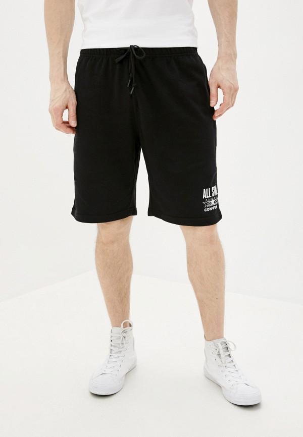 мужские повседневные шорты converse, черные
