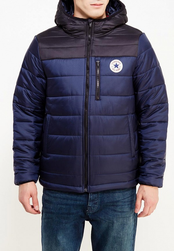Куртка утепленная Converse, CO011EMYTK29, синий, Осень-зима 2017/2018  - купить со скидкой