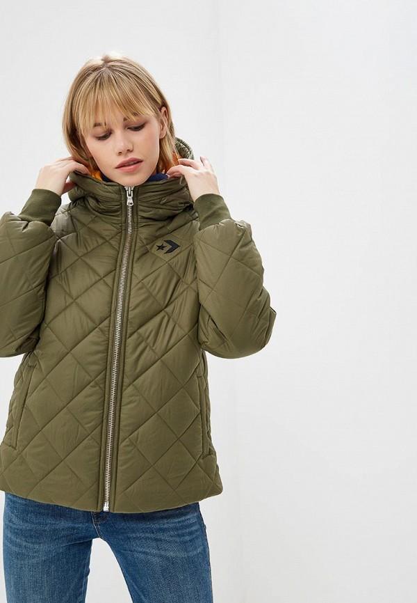 Купить Куртку утепленная Converse цвета хаки