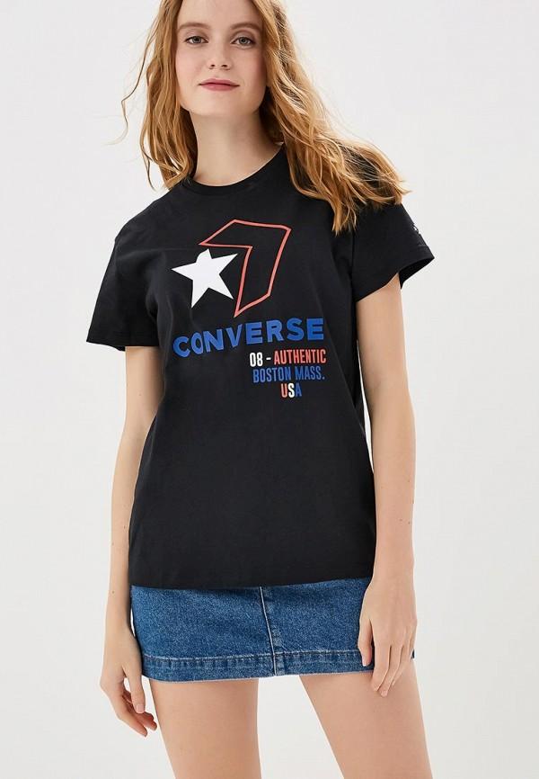 Футболка Converse Converse CO011EWEQTQ9 футболка converse converse co011emanaq7