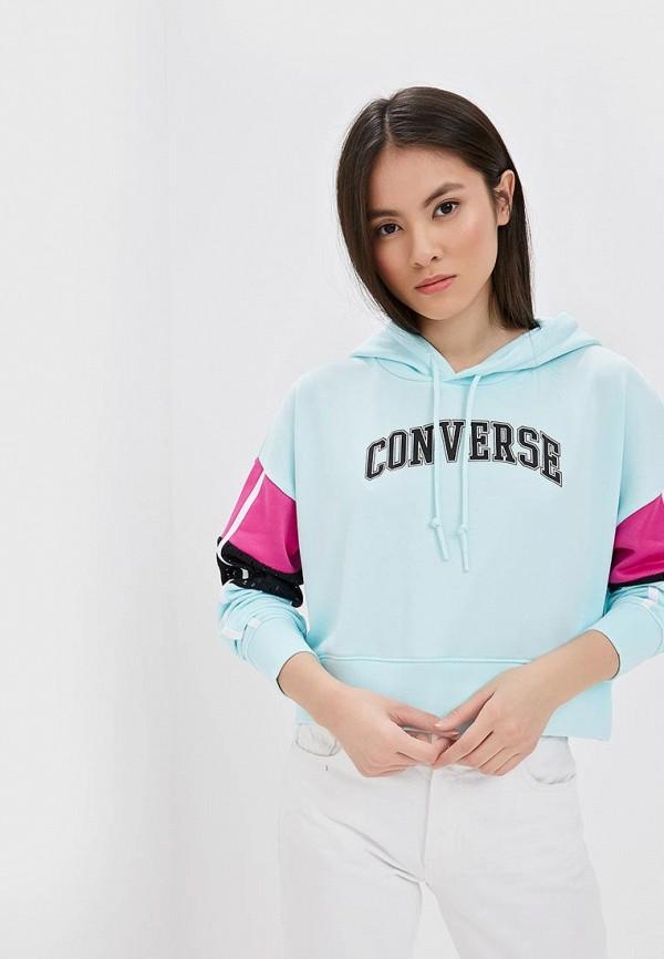 Худи Converse Converse CO011EWEQTS7 худи мужское converse chuck taylor graphic pullover hoodie цвет серый 10007066035 размер m 48