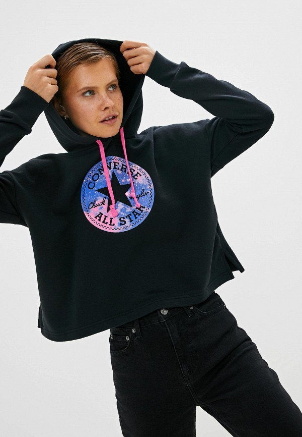 Худи Converse Converse CO011EWFPQP7 худи мужское converse chuck taylor graphic pullover hoodie цвет серый 10007066035 размер m 48