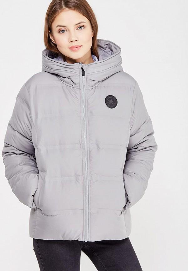 Купить Куртка утепленная Converse, CO011EWYTT28, серый, Осень-зима 2017/2018