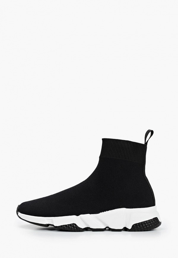 женские высокие кроссовки covani, черные