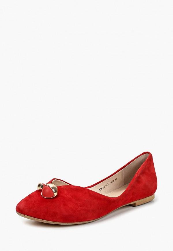 Фото 2 - женские туфли Covani красного цвета