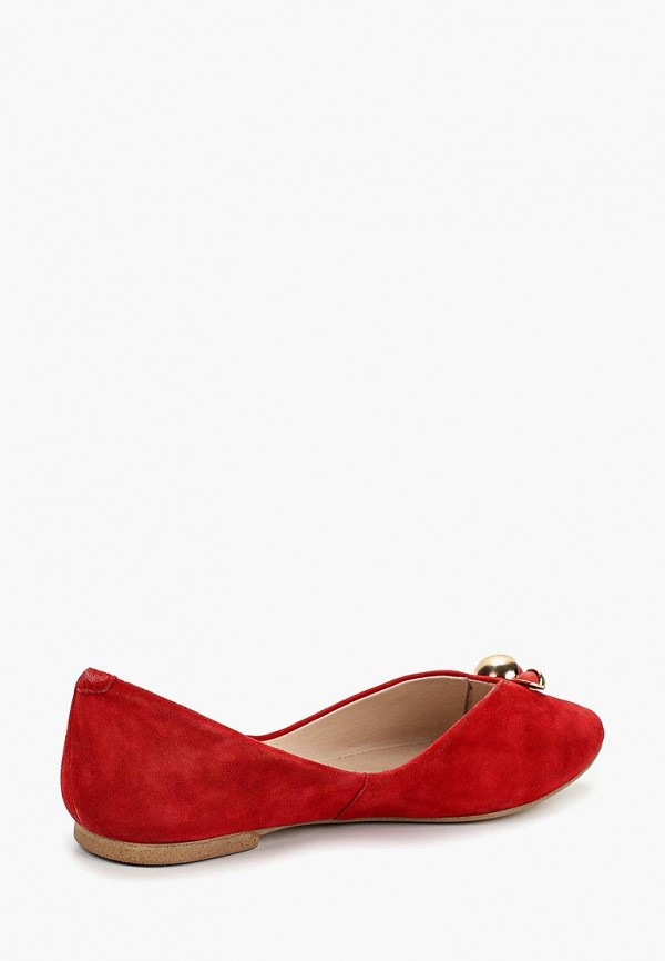 Фото 3 - женские туфли Covani красного цвета